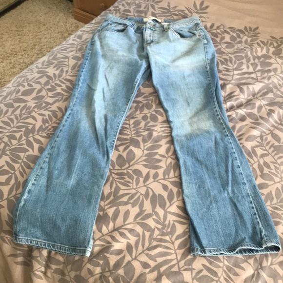 Levi's Denim - Levi's boot cut light blue